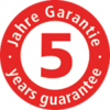 5-year quality guarantee
